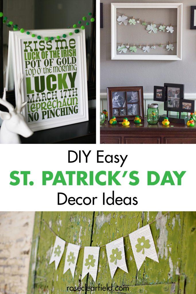 DIY Easy St. Patrick's Day Decor Ideas
