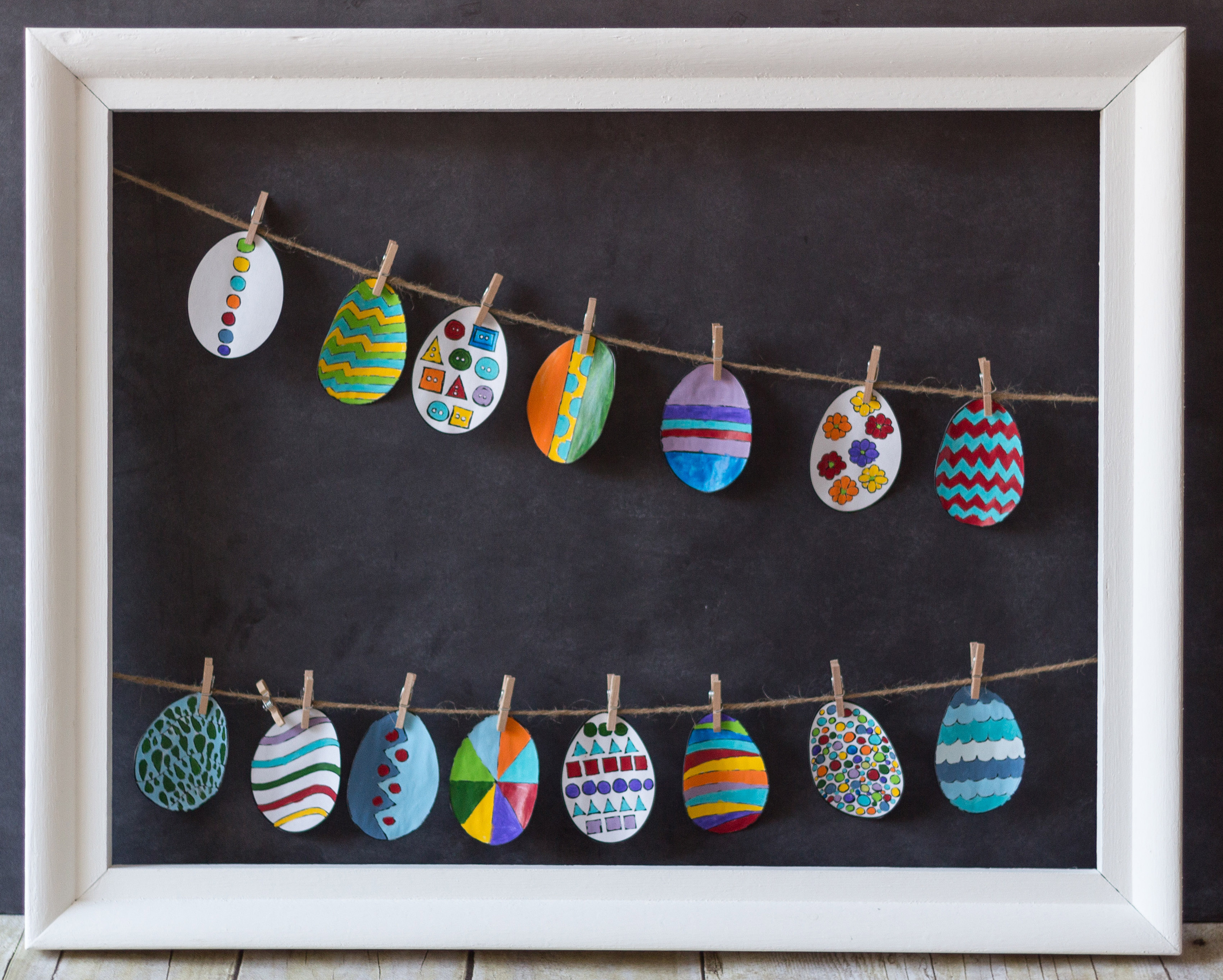 Easter 2017 Open Frame Decoration | https://www.roseclearfield.com