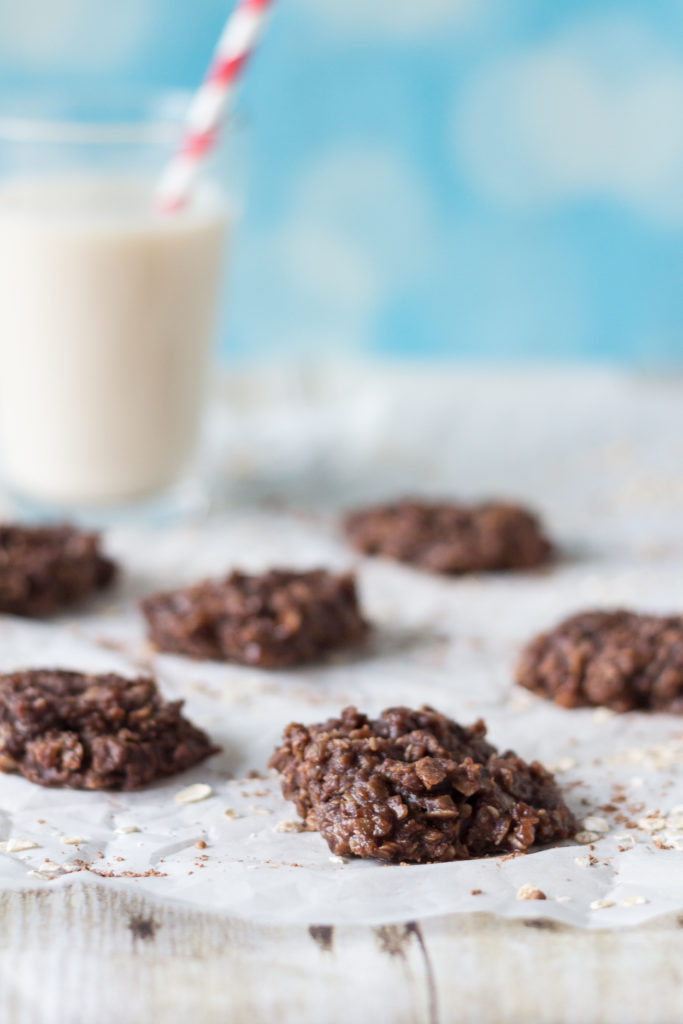 No-Bake Chocolate Oatmeal Peanut Butter Cookies   https://www.roseclearfield.com