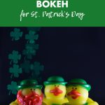 Shamrock Shaped Bokeh for St. Patrick's Day