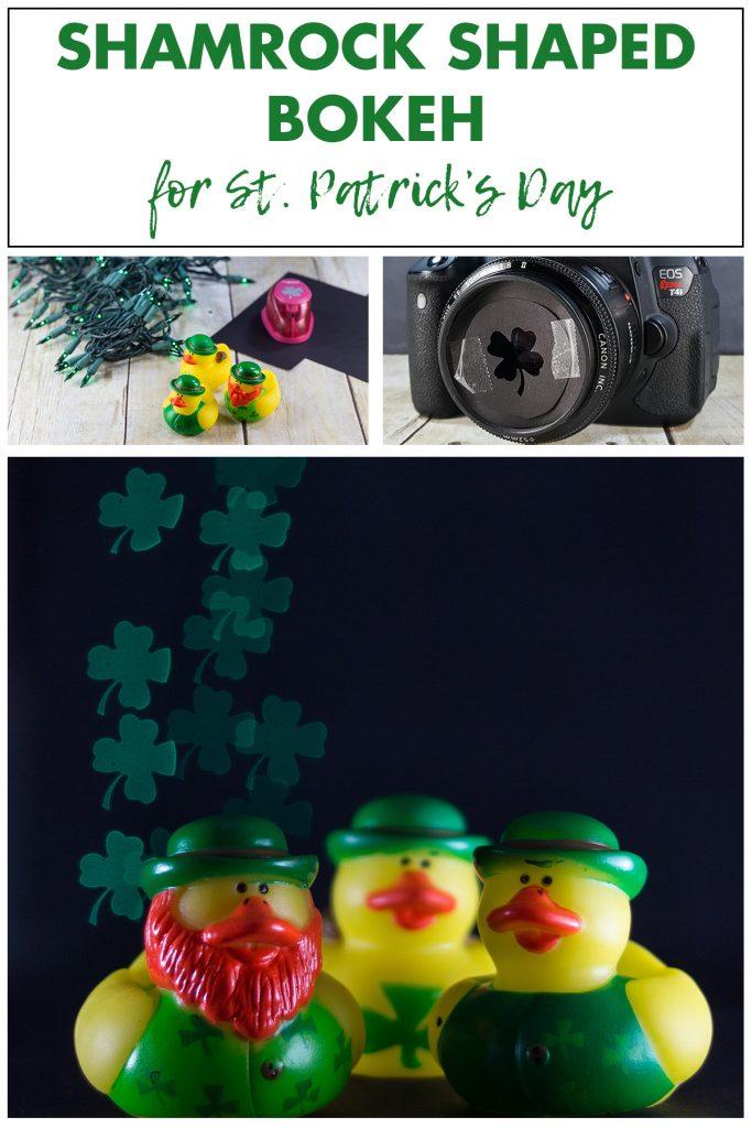 Shamrock Shaped Bokeh for St. Patrick's Day
