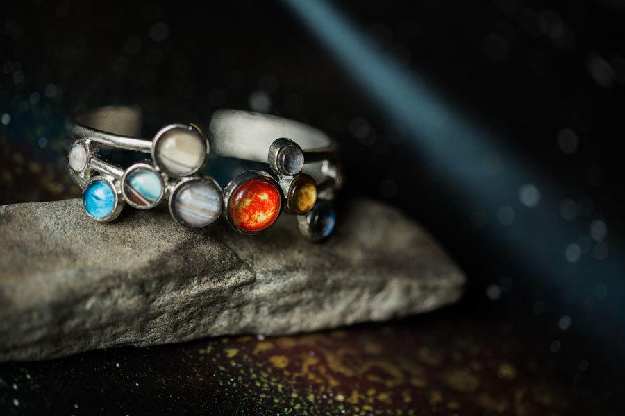 Yugentribe Solar System Bracelet   https://www.roseclearfield.com