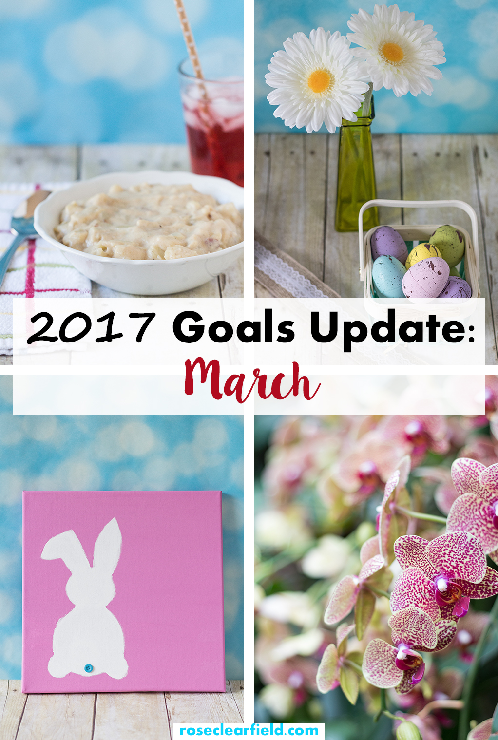 2017 Goals Update March | https://www.roseclearfield.com