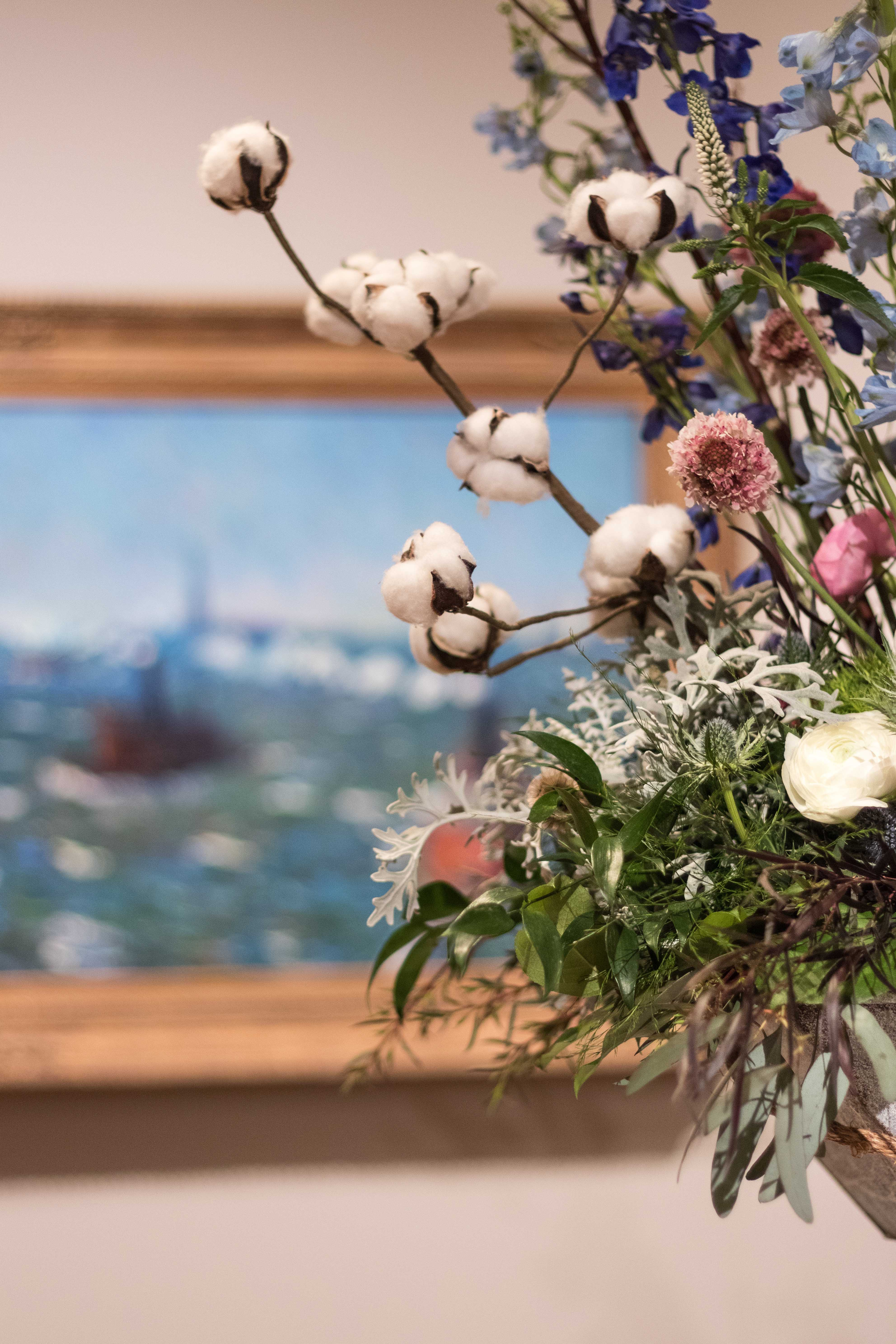 Art in Bloom 2017 at the Milwaukee Art Museum | https://www.roseclearfield.com