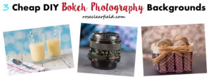 3 Cheap DIY Photography Backgrounds | https://www.roseclearfield.com