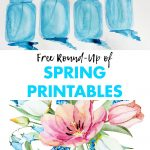 Free Round Up of Spring Printables