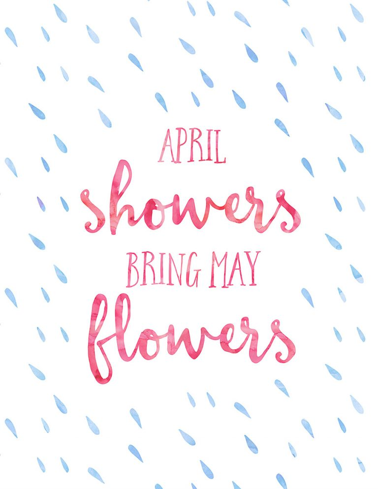 Free Spring Printables - By Dawn Nicole | https://www.roseclearfield.com