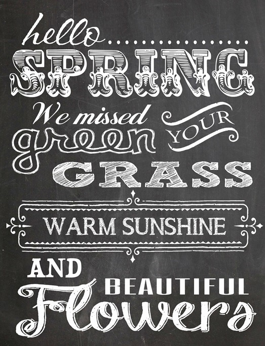 Free Spring Printables - Poppy Seed Projects | https://www.roseclearfield.com