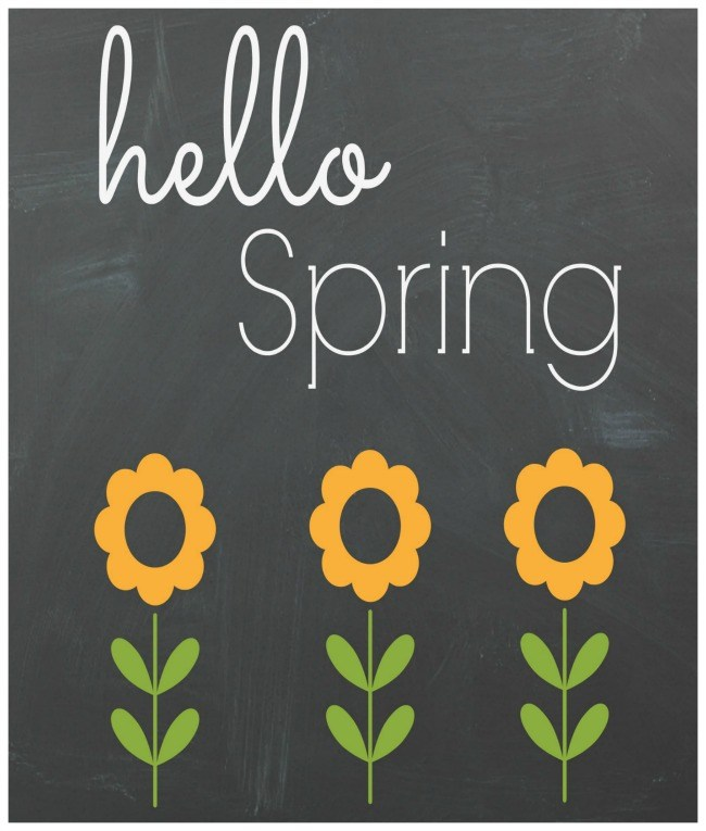 Free Spring Printables - Through My Front Porch | https://www.roseclearfield.com