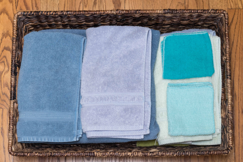 Master Bathroom Towels
