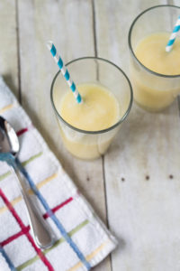 Pineapple and Mango Coconut Smoothie