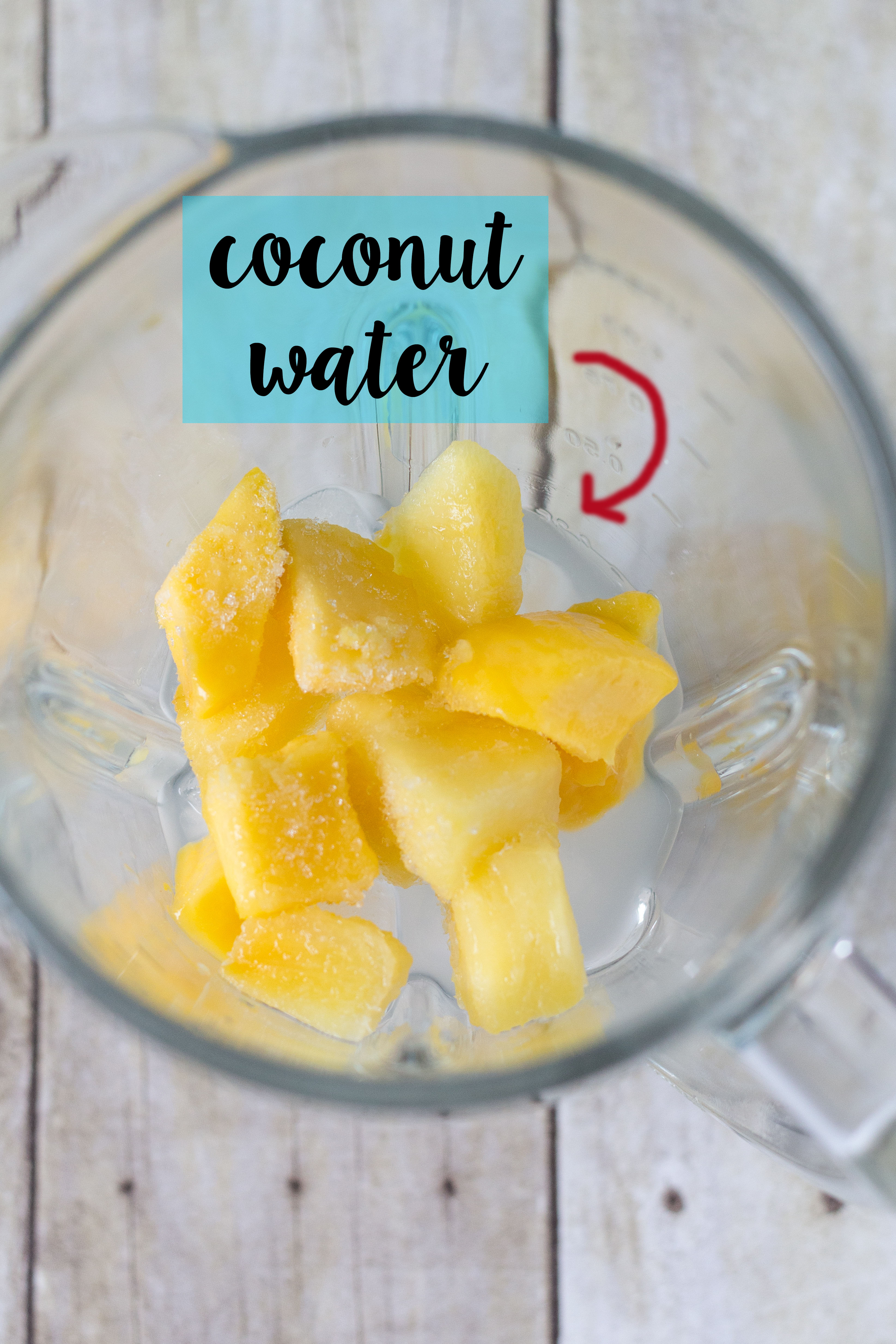 Pineapple Mango Coconut Smoothie | https://www.roseclearfield.com