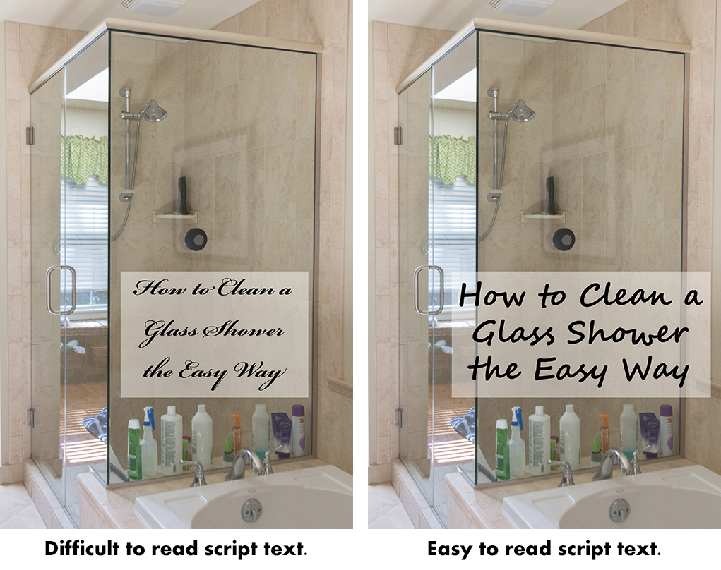 Pinterest Sharing Tips - Choose an Easy to Read Font | https://www.roseclearfield.com