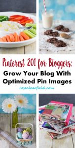 Pinterest 201 for Bloggers: Grow Your Blog With Optimized Pin Images | https://www.roseclearfield.com