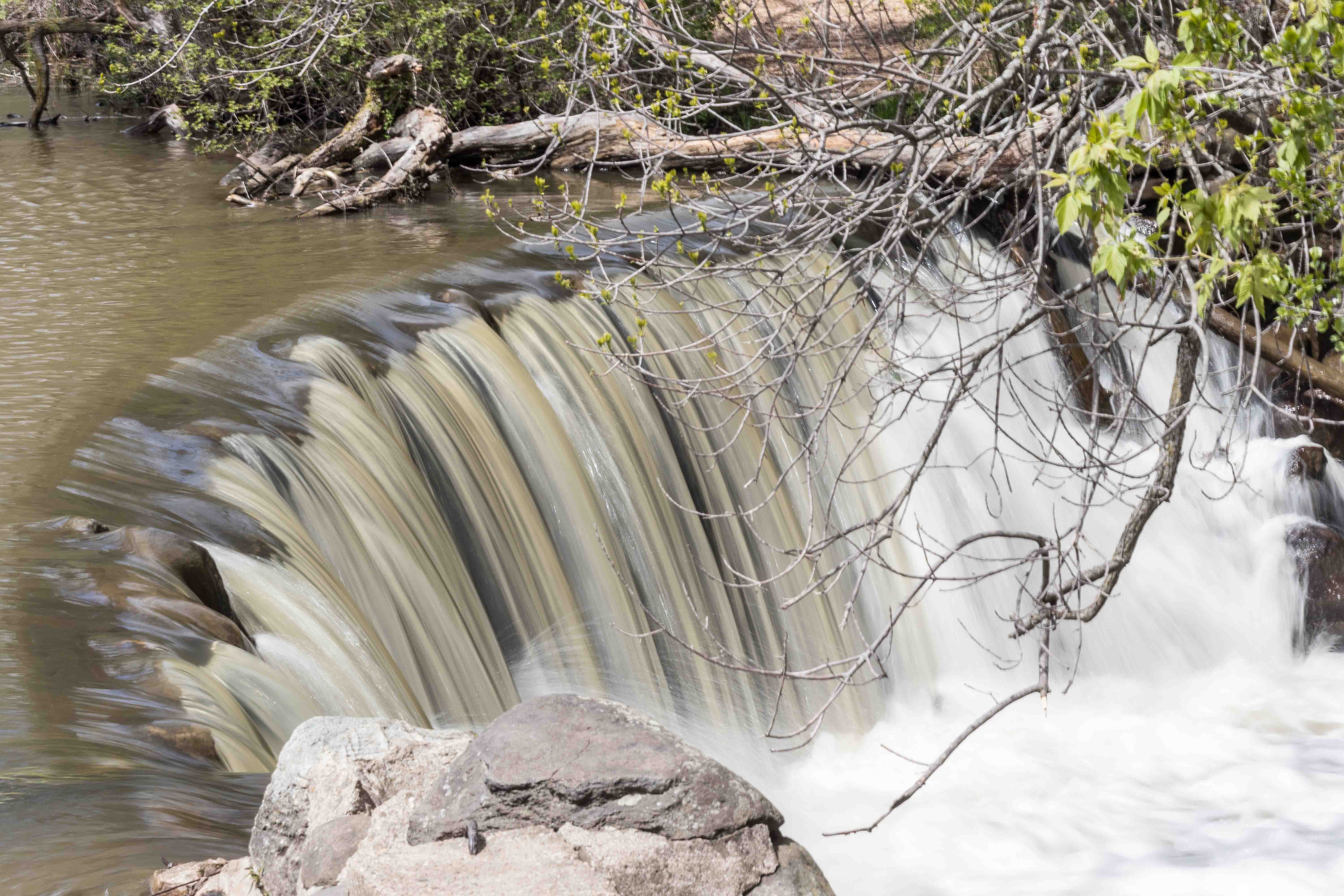 Whitnall Park Large Waterfall May 2017   https://www.roseclearfield.com
