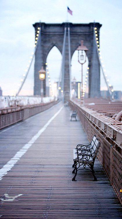 Photography Inspiration - Brooklyn Bridge New York City via Babble | https://www.roseclearfield.com