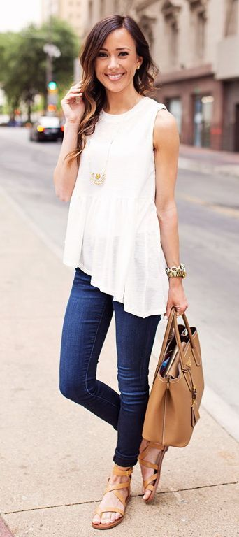 Casual Summer Fashion Inspiration • Rose Clearfield
