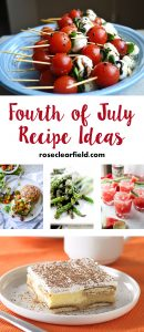 Fourth of July Recipe Ideas