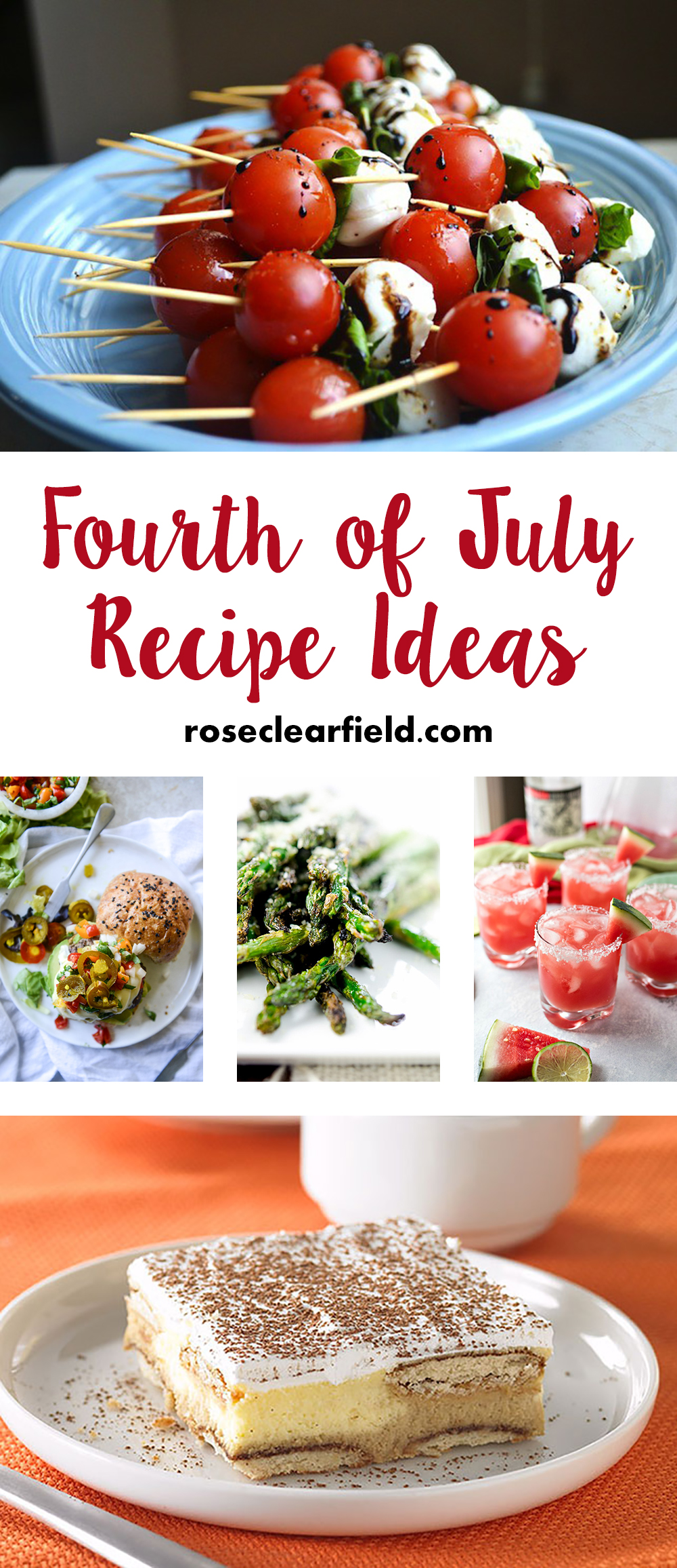 Fourth of july recipe ideas rose clearfield for July 4th food ideas