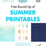 Free Round-Up of Summer Printables