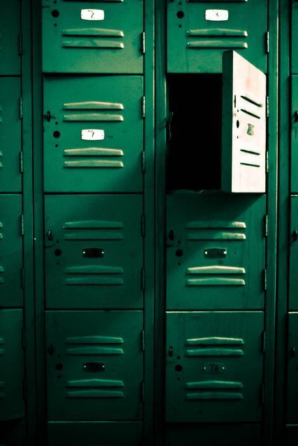 Photography Inspiration - Green Lockers Source Unknown | https://www.roseclearfield.com