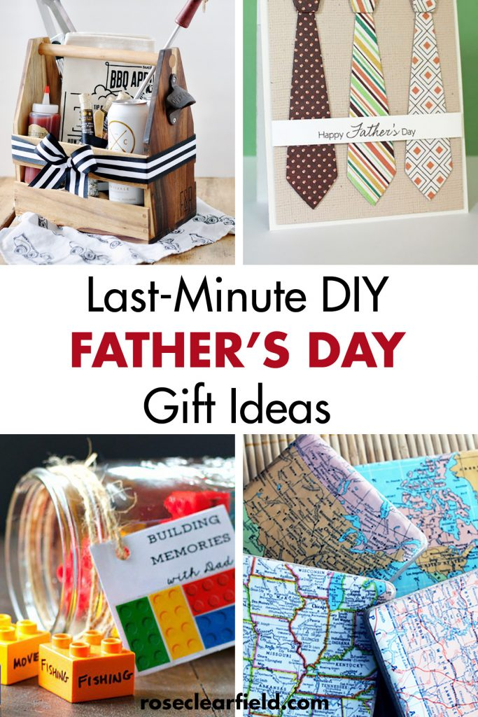 Last Minute DIY Father's Day Gift Ideas