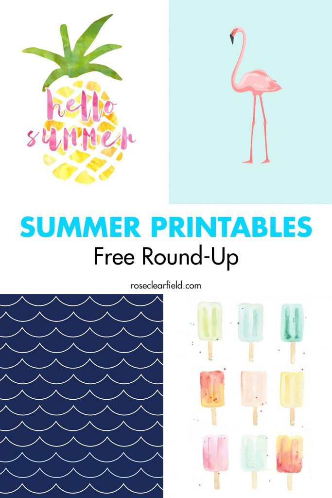 Summer Printables Free Round-Up