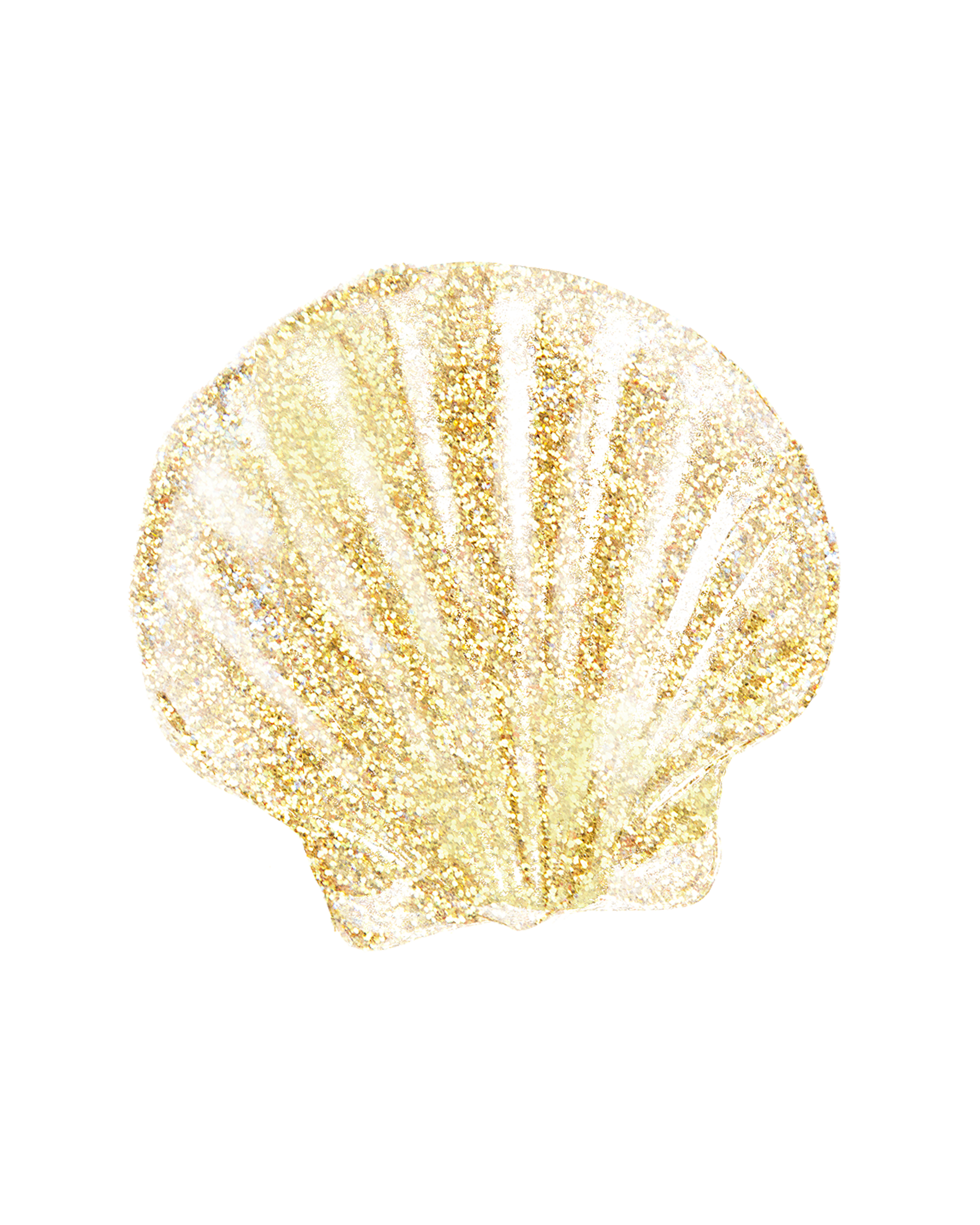 Free Summer Printables - Gold Sea Shell via Holiday Printables Blog | https://www.roseclearfield.com