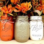 Fall DIY Mason Jars via Her Campus | https://www.roseclearfield.com
