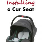 Tips for Purchasing and Installing a Car Seat