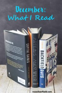 What I Read: October/November/December 2017 | https://www.roseclearfield.com