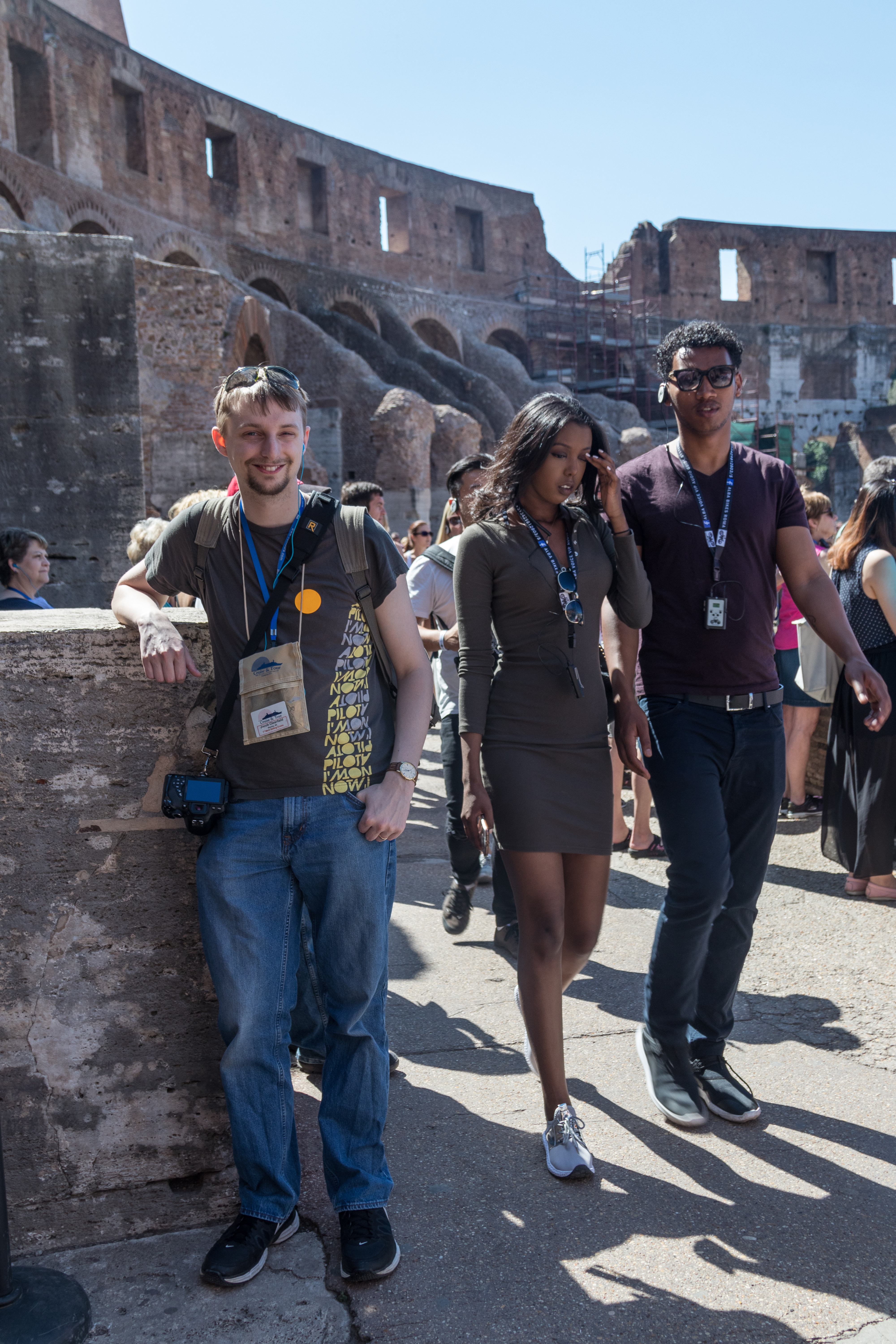 Mediterranean Cruise: Colosseum and Roman Forum | https://www.roseclearfield.com