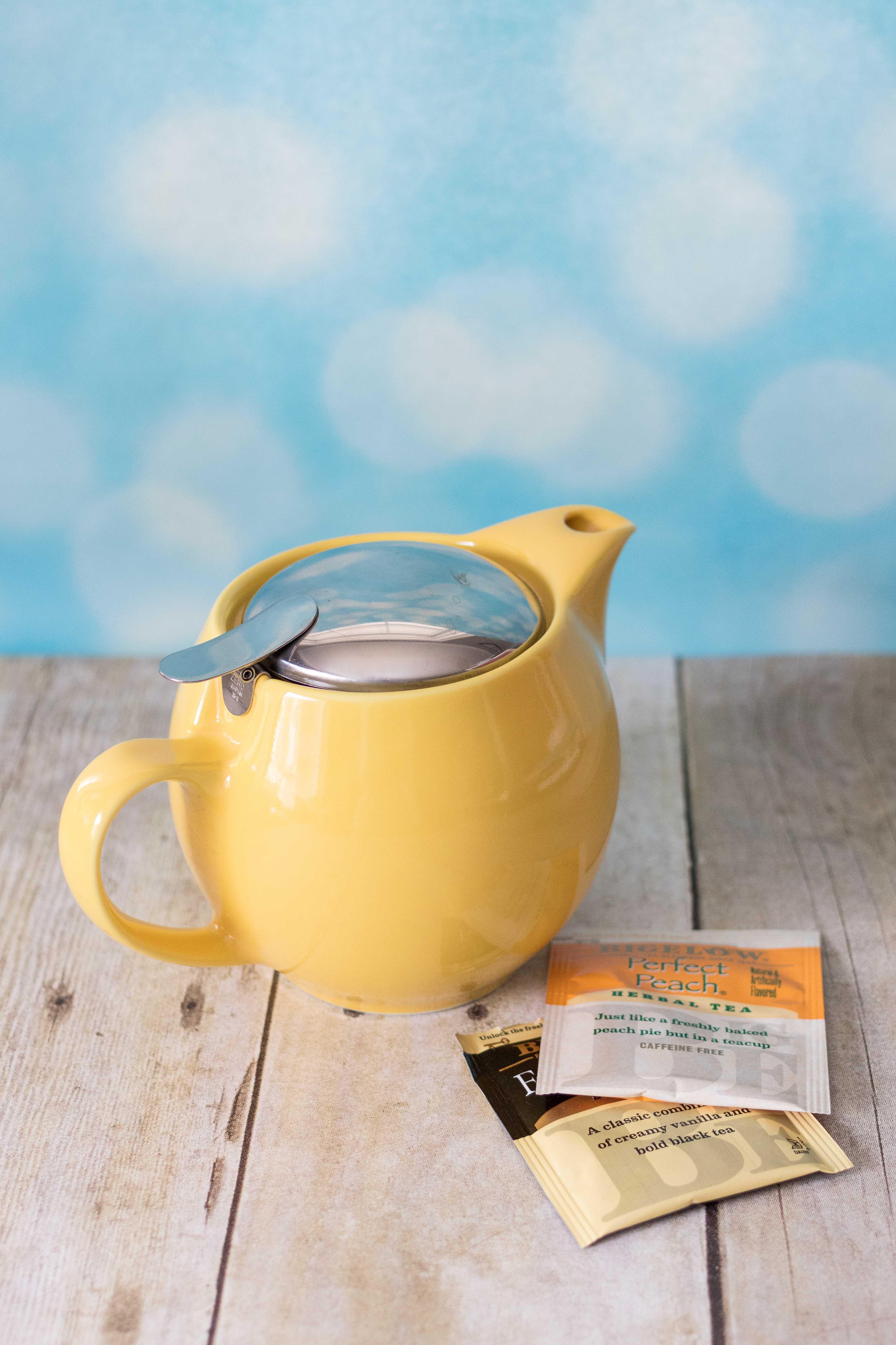 Yellow Teapot | https://www.roseclearfield.com
