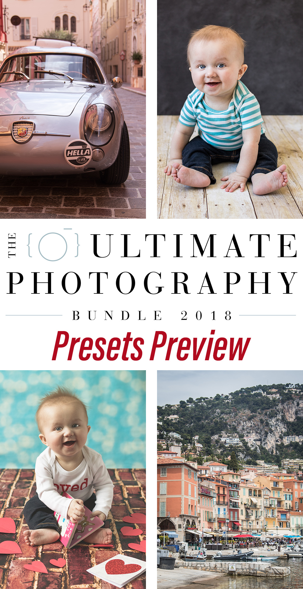 Ultimate Photography Bundle 2018. Contains six preset packages with over 500 presets total. Preview just a small sample of this amazing deal! | https://www.roseclearfield.com