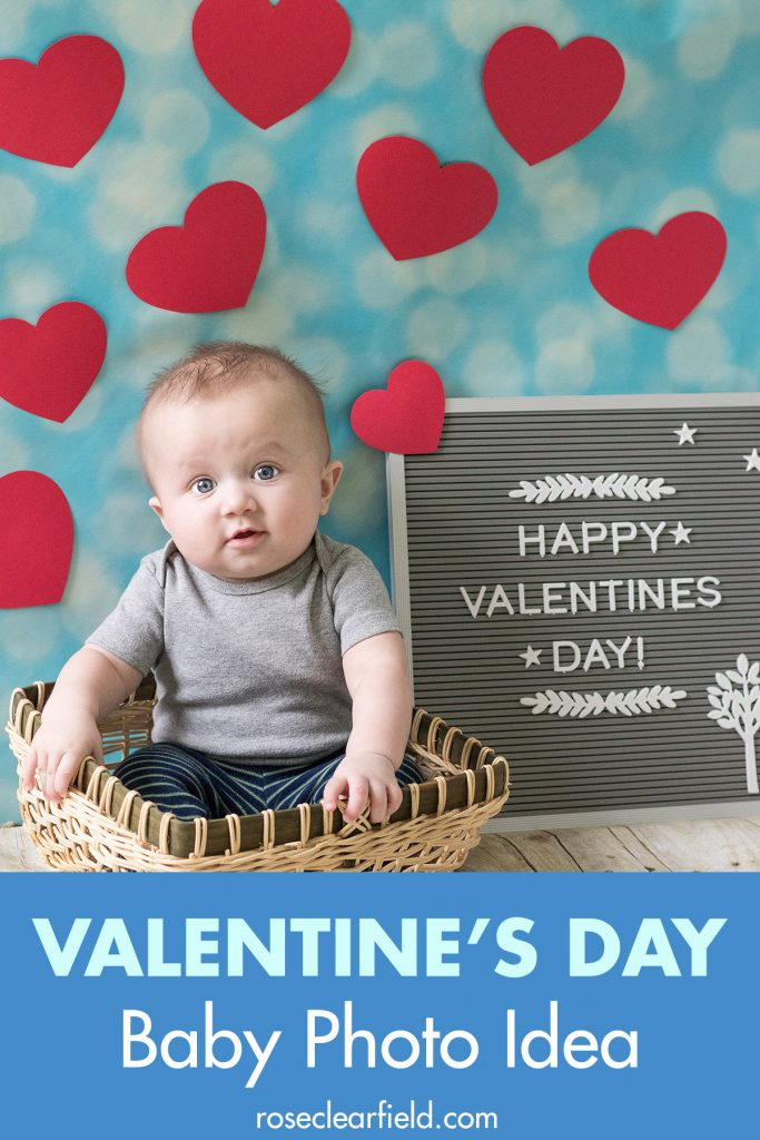 Valentine's Day Baby Photo Idea