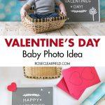 Valentine's Day Baby Photo Idea