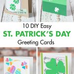 10 DIY Easy St. Patrick's Day Greeting Cards
