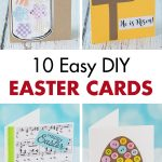 10 Easy DIY Easter Cards