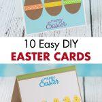 10 Easy DIY Easter Cards