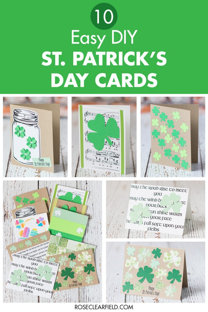 10 Easy DIY St. Patrick's Day Cards