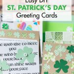 10 Easy DIY St. Patrick's Day Greeting Cards