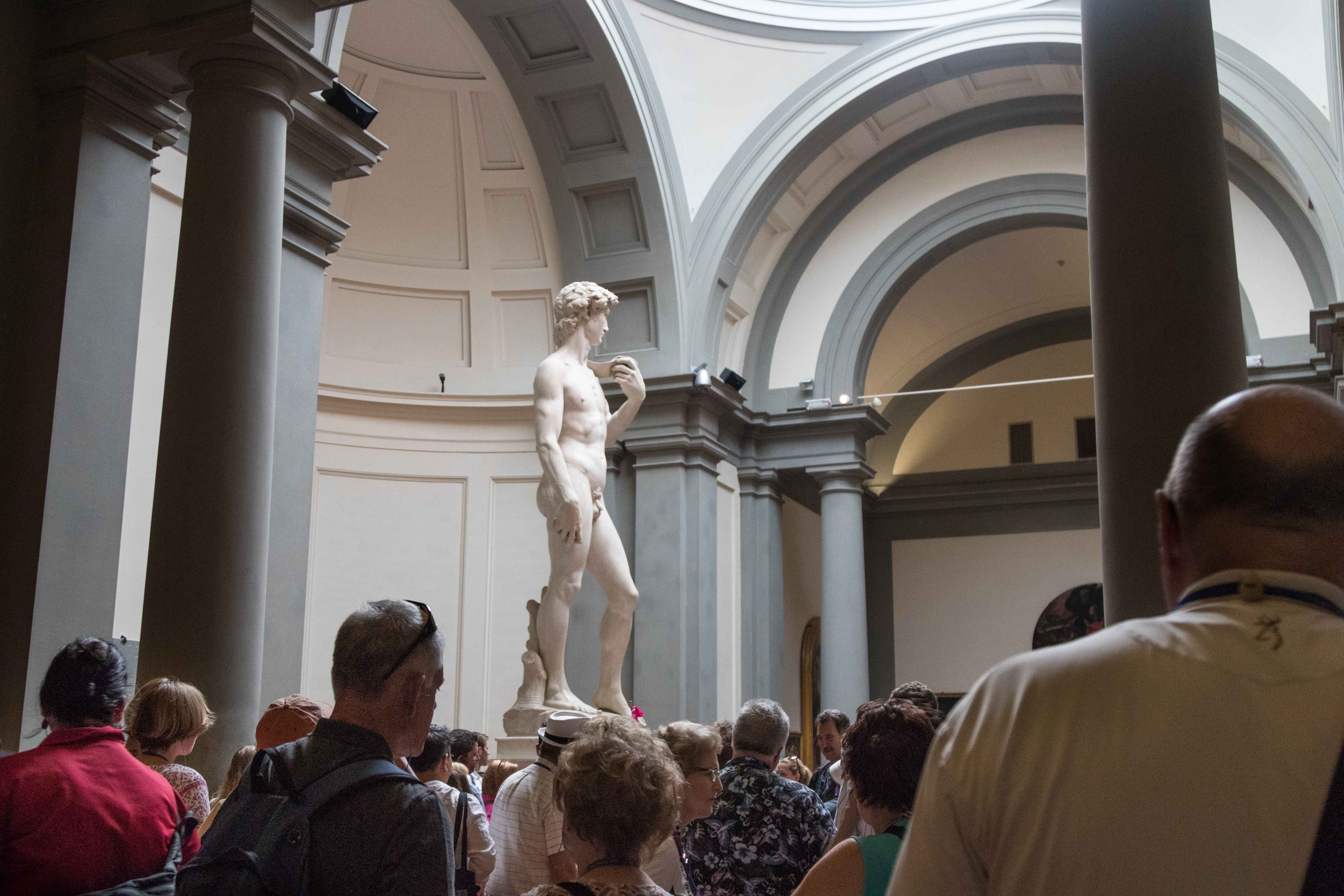 Mediterranean Cruise: Florence - Accademia Gallery   https://www.roseclearfield.com
