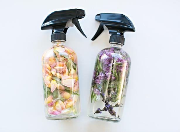 Floral Herb Room Spray via Hello Wonderful | https://www.roseclearfield.com