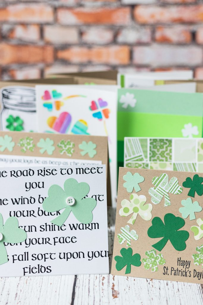 Simple DIY St. Patrick's Day Cards