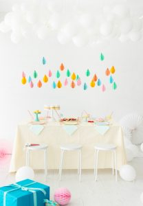 April Showers Bring May Flowers Baby Shower - April Baby Showers via Oh Happy Day | https://www.roseclearfield.com