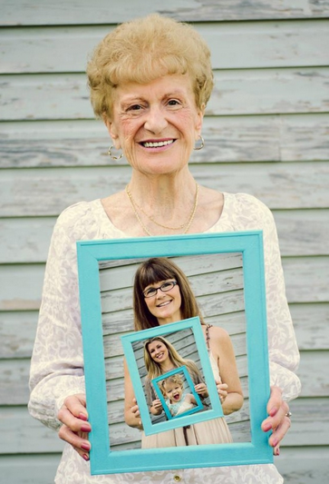 Unique Mother's Day Photo Gift Ideas - Four Generations, Copyright Moose Photography via Cool Mom Picks   https://www.roseclearfield.com