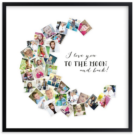 Unique Mother's Day Photo Gift Ideas - I Love You to the Moon and Back via Minted | https://www.roseclearfield.com