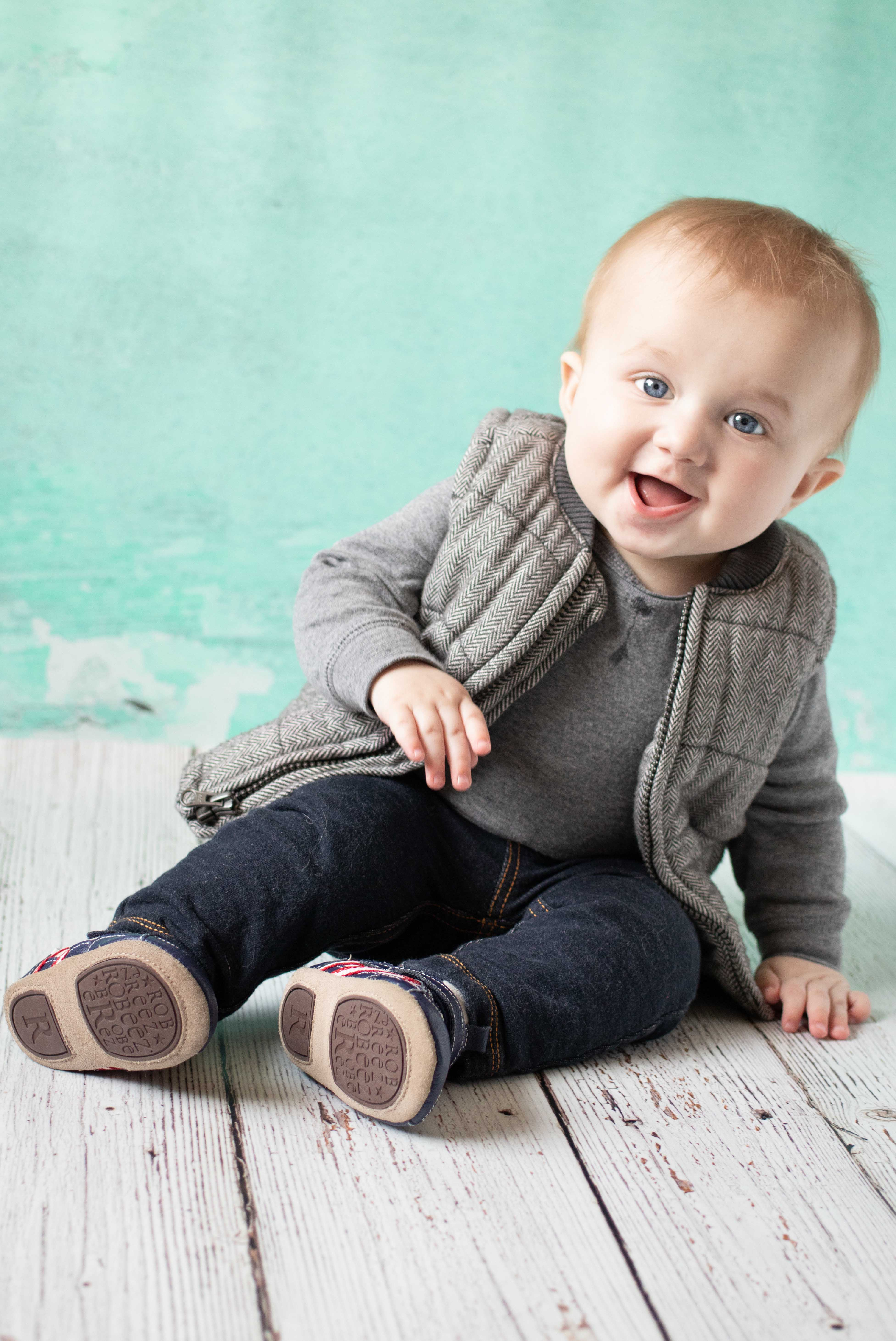 Tommy 9 Months | https://www.roseclearfield.com