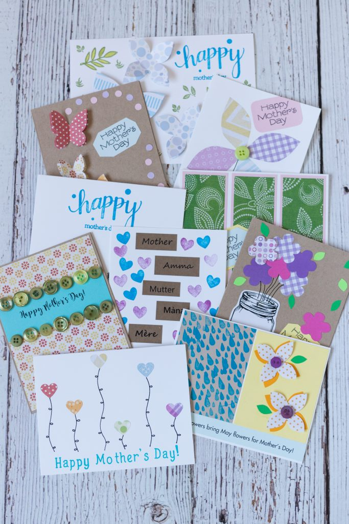 10 Simple DIY Mother's Day Cards
