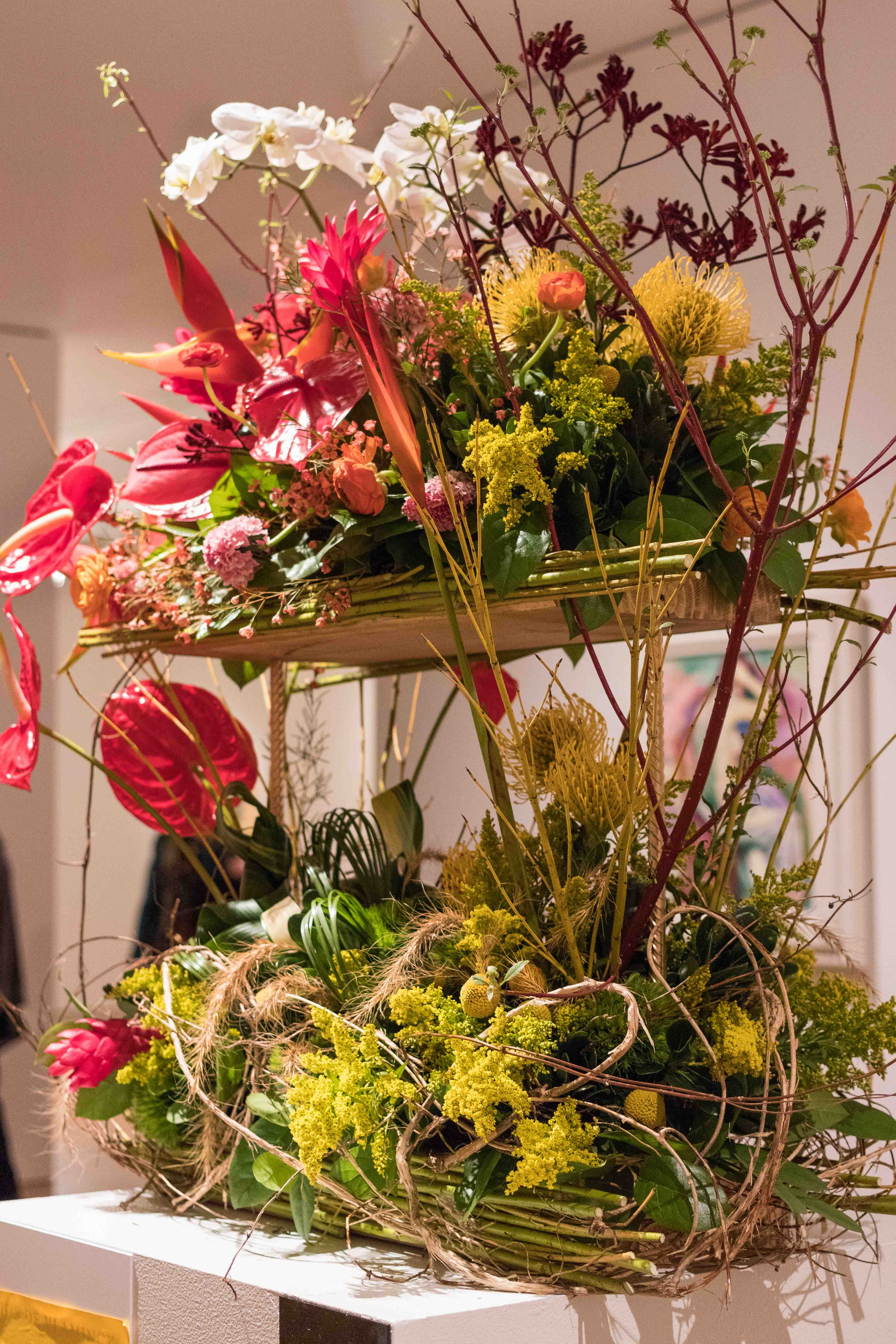 Art in Bloom 2018 at the Milwaukee Art Museum | https://www.roseclearfield.com